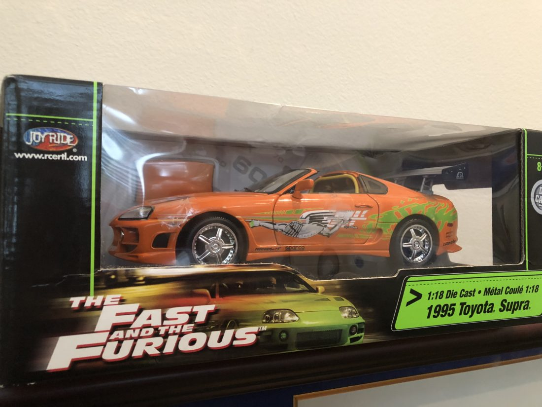Diecast Supra The Fast and The Furious