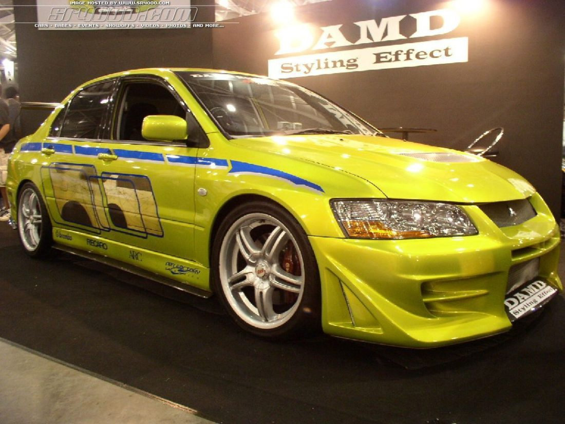 Brian's Evo Specs - Fast and Furious Facts