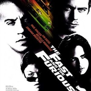 Fast and Furious original movie poster