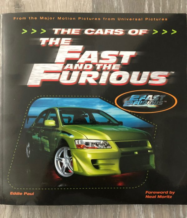 Cars of the Fast and Furious Book